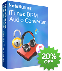 NoteBurner iTunes DRM Audio Converter - Apple Music 音楽変換ソフト
