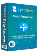 syncios data recovery for mac の使い方